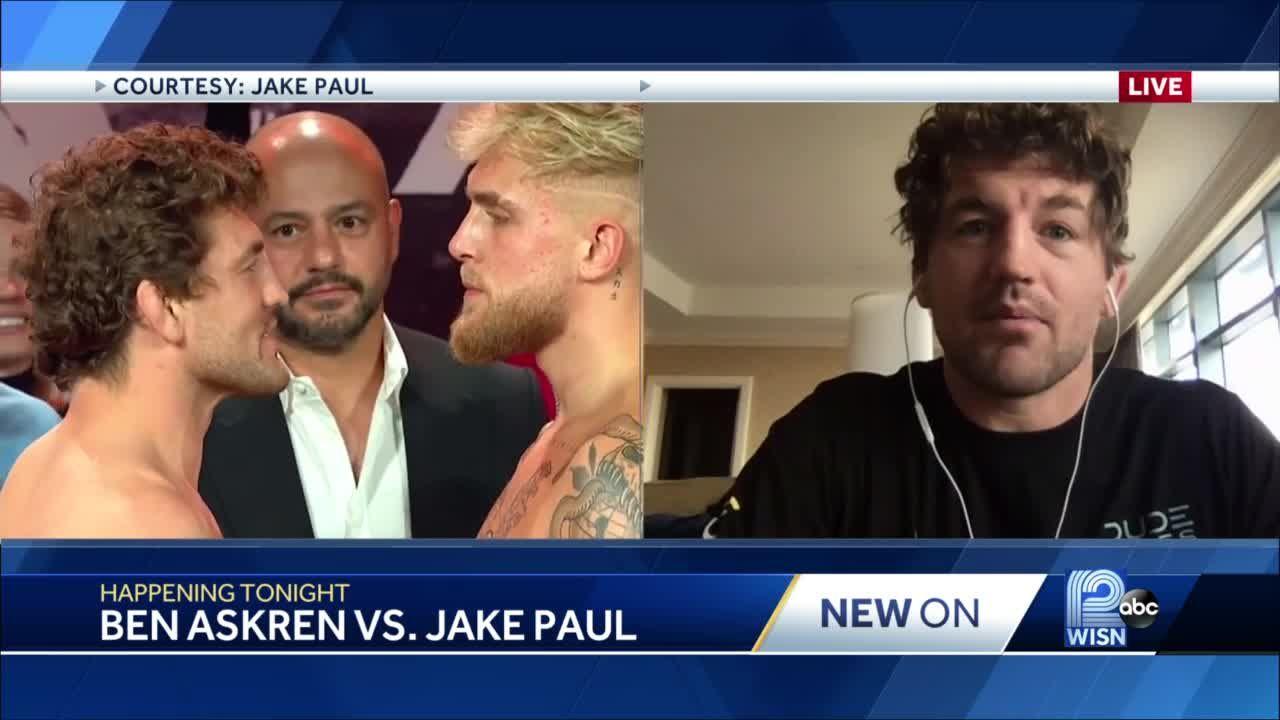 VIDEO: Hartland native Ben Askren prepares for boxing debut