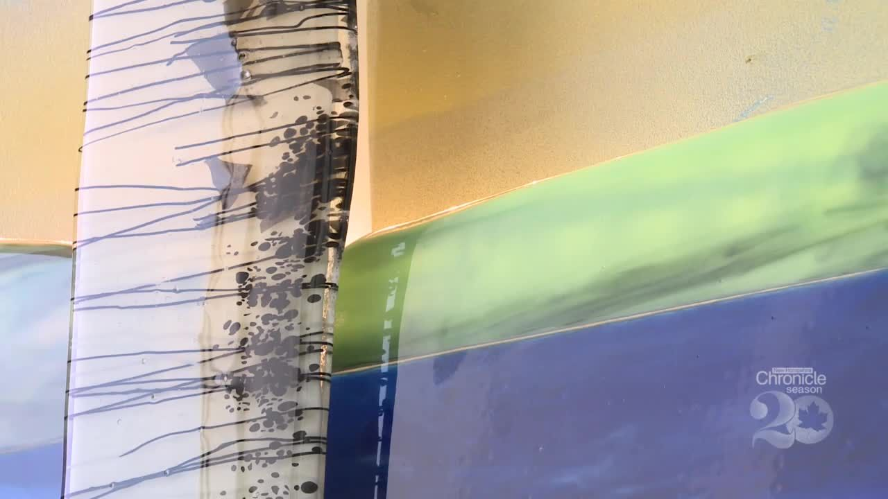 New Hampshire Chronicle: The fused glass art of Caroline Parent