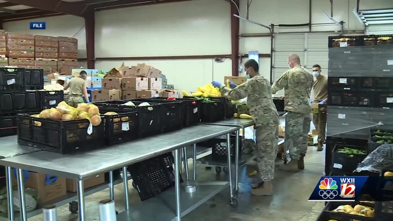 Second Harvest Food Bank in need of more volunteers as National Guard gets re assigned