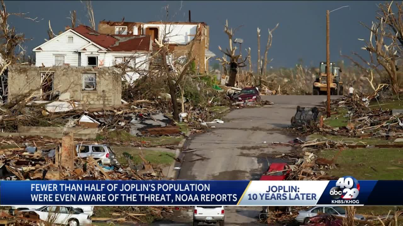 Ten Years Later: Joplin meteorologist looks back on the deadly tornado