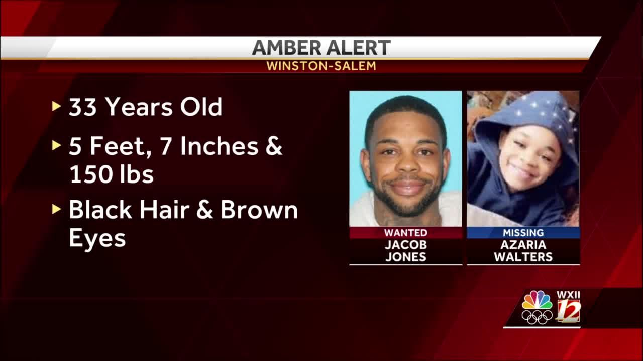 Winston-Salem police issue AMBER Alert for Azaria Walters