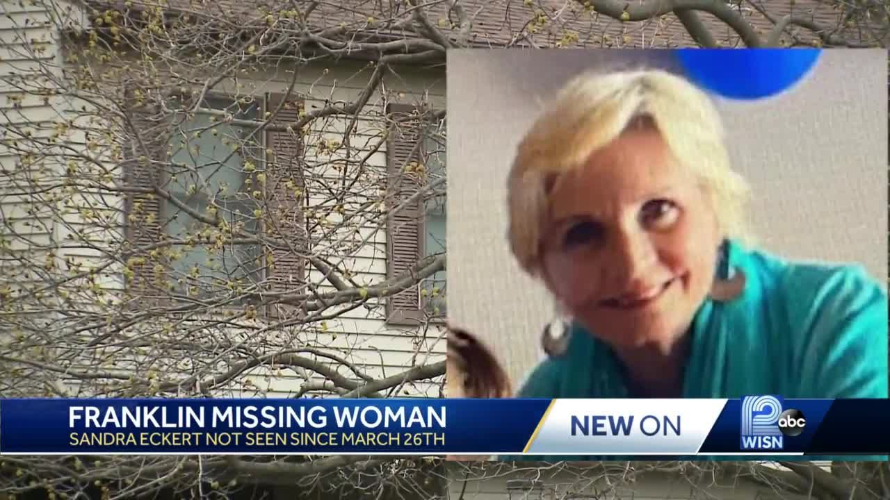 Husband detained as police search for missing woman