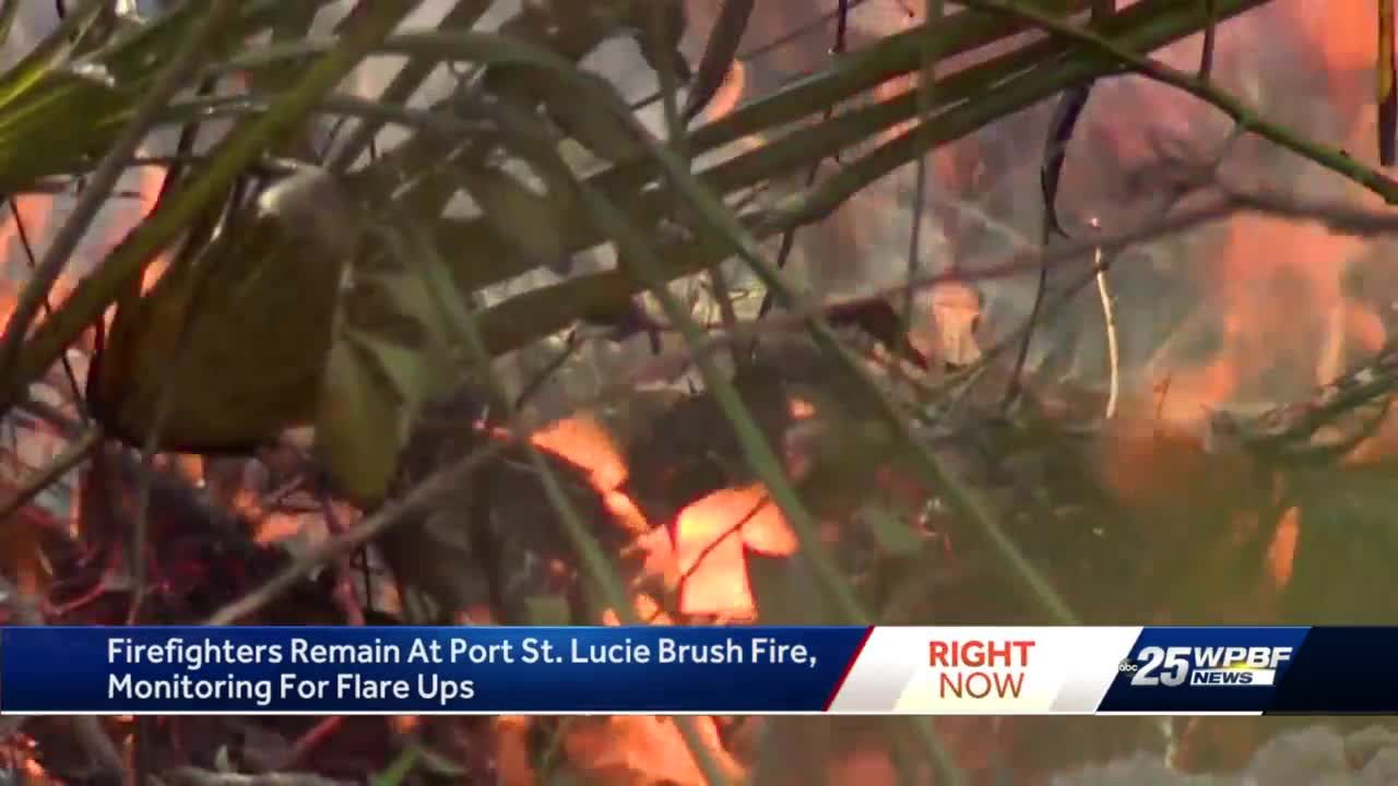 PSL Brush Fire Update