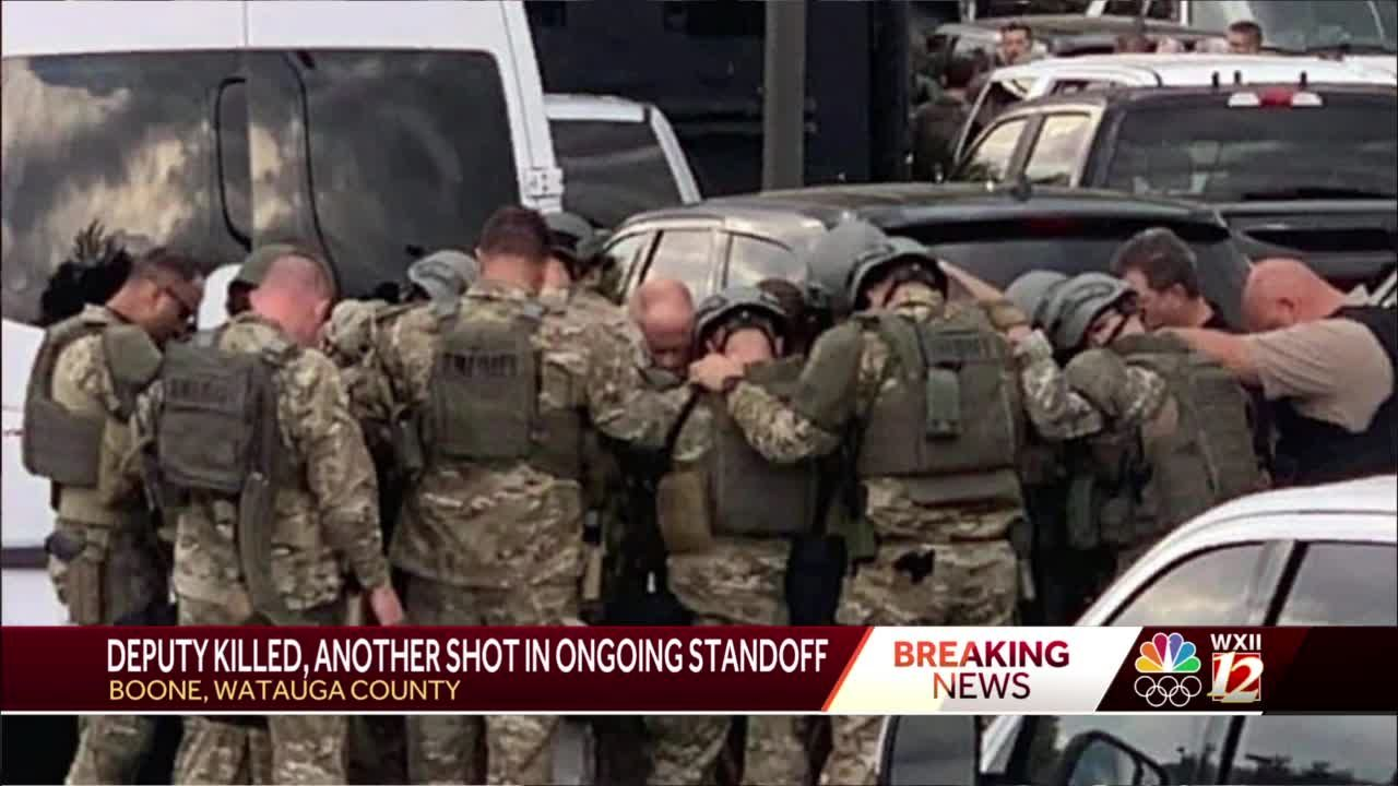 Watauga County deputy killed, another deputy injured in ongoing standoff