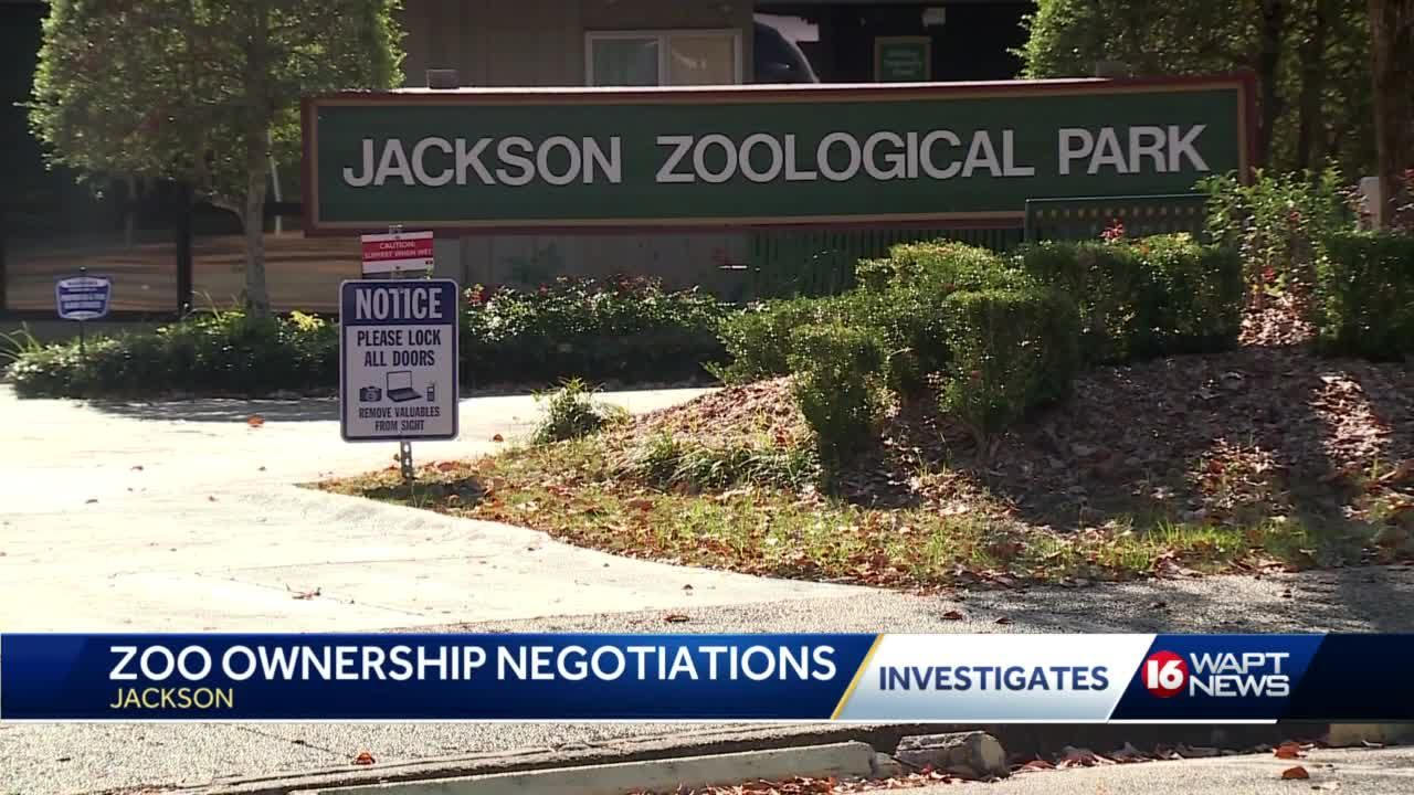 Jackson Zoo contract still unsigned