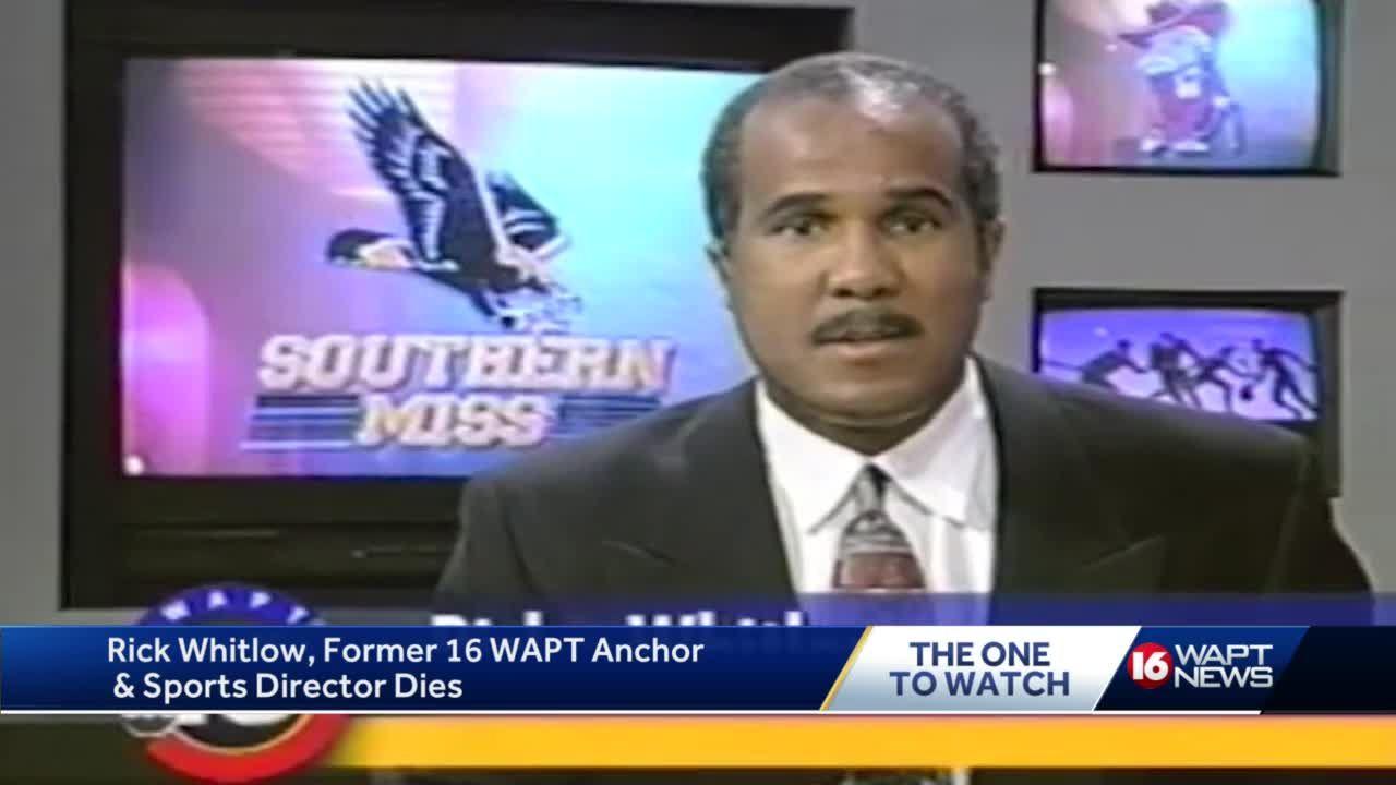 Rick Whitlow, former WAPT sports director, dies at 67