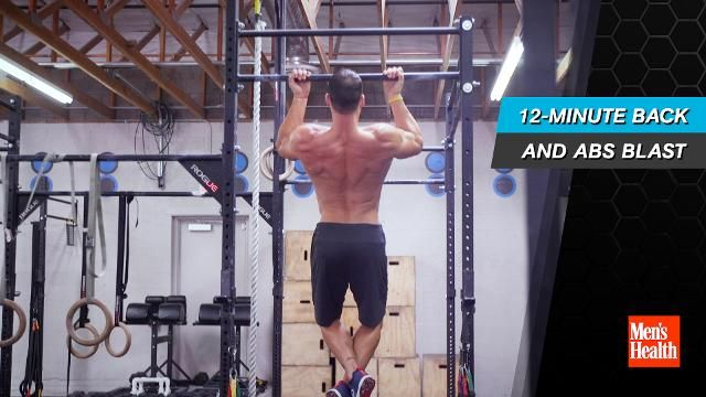 The 2-Move Workout That Gives You Killer Abs and Biceps