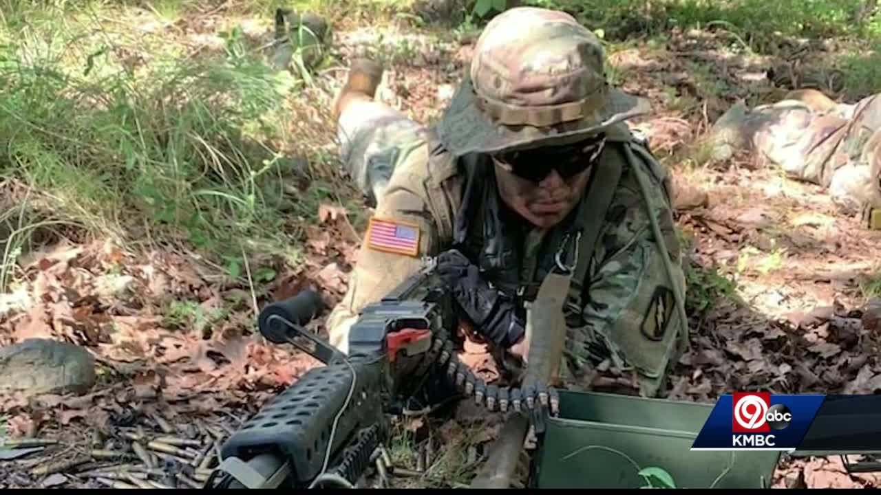 'Breaking that glass ceiling': Woman becomes first female infantry Soldier in Kansas Army National Guard