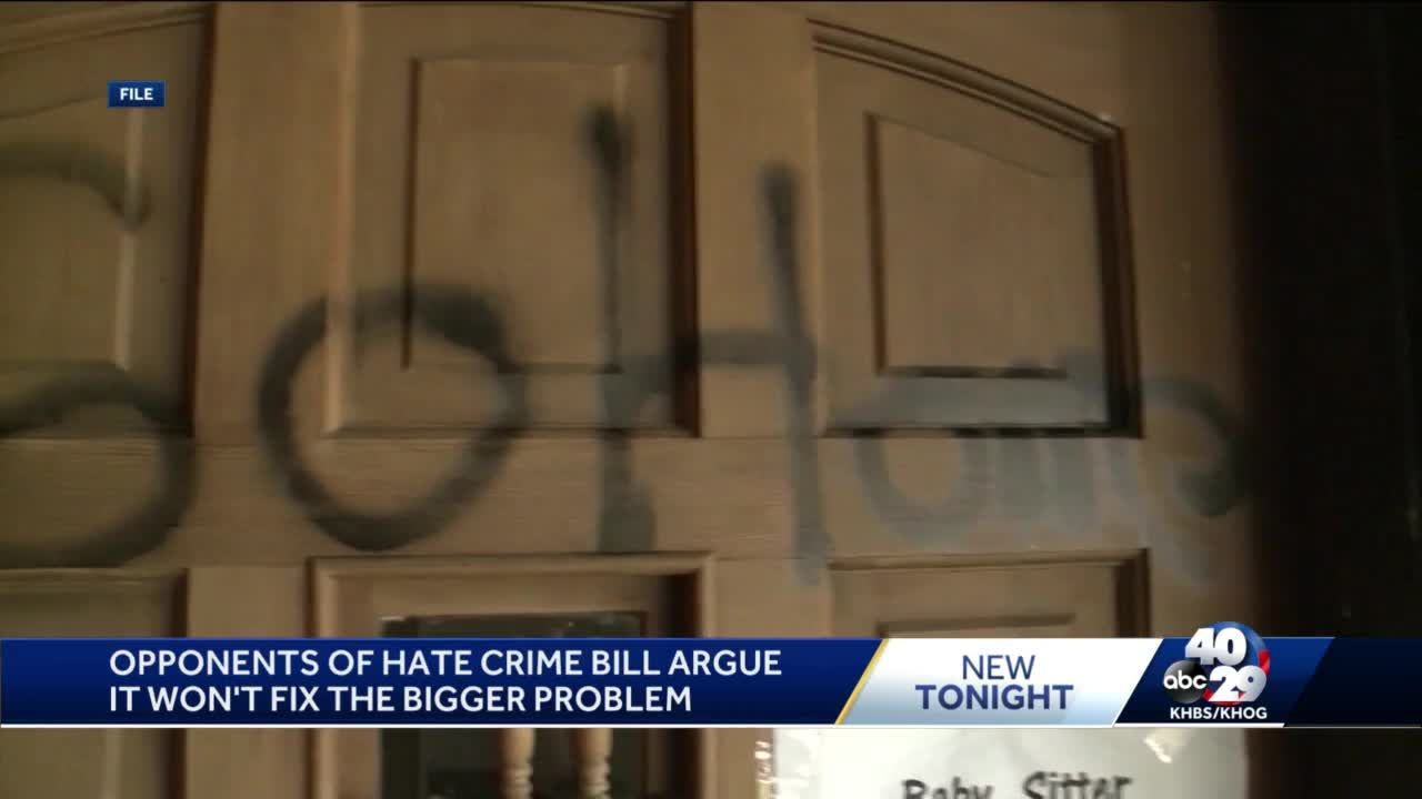 Arkansas proposed hate crime law faces conservative opposition