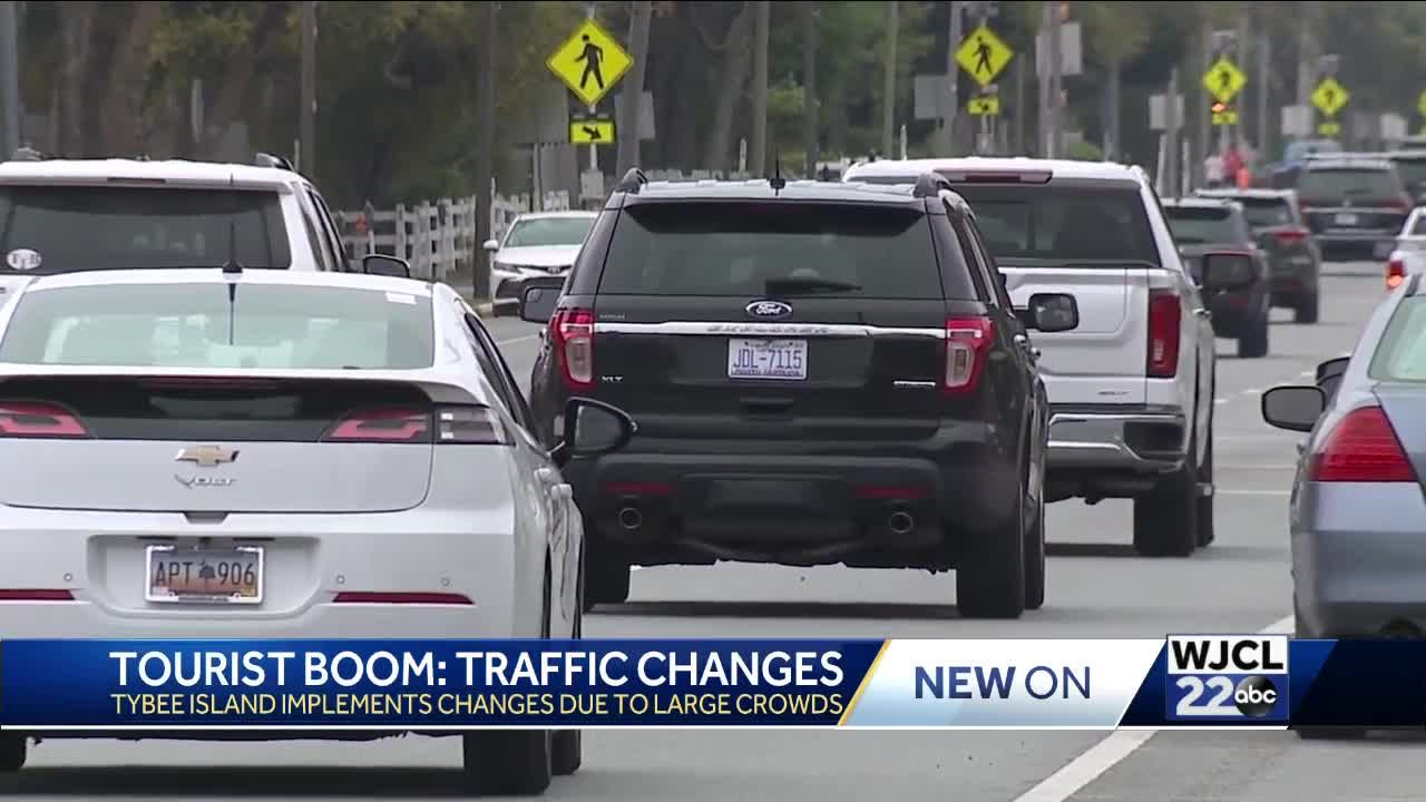 Tourism boom results in traffic controls on Tybee Island