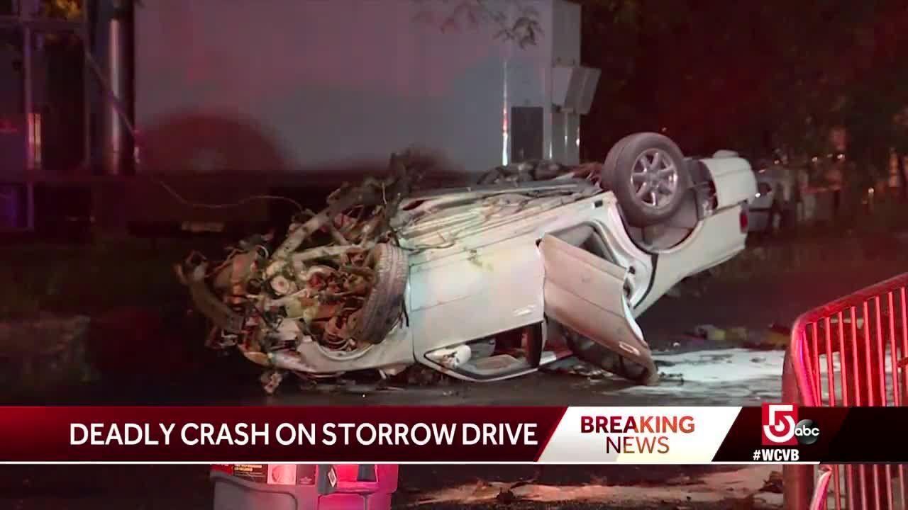 Deadly crash on Storrow Drive