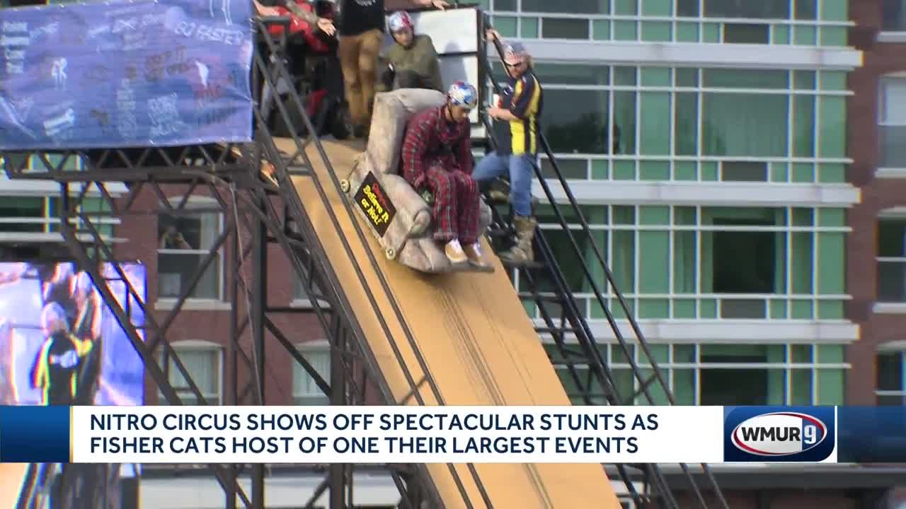 Nitro Circus Shows Off Spectacular Stunts In Manchester