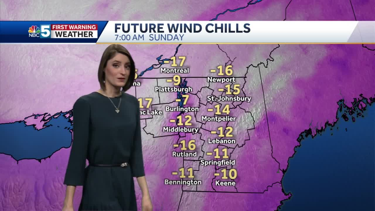 Video: It gets cold again this weekend 1/22/21