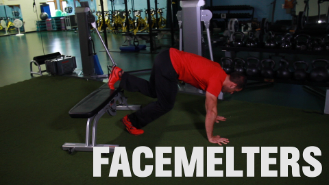 Finish Your Workout with 'The Face Melter'