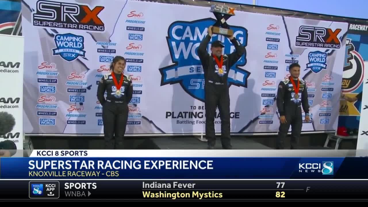 Tony Stewart wins SRX Race
