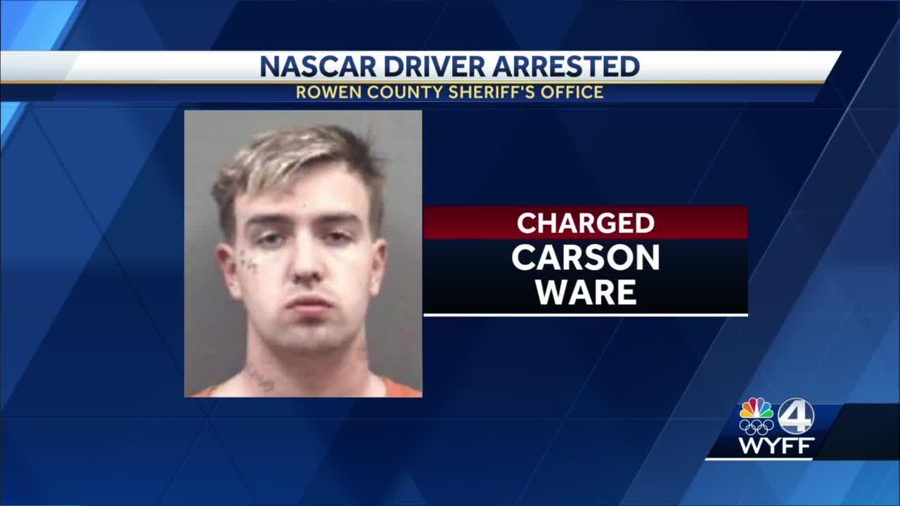 NASCAR driver arrested
