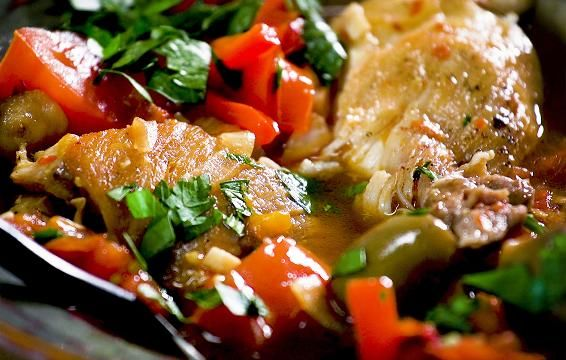 This Protein-Packed Chicken Cacciatore Will Become Your Favorite Healthy Dinner