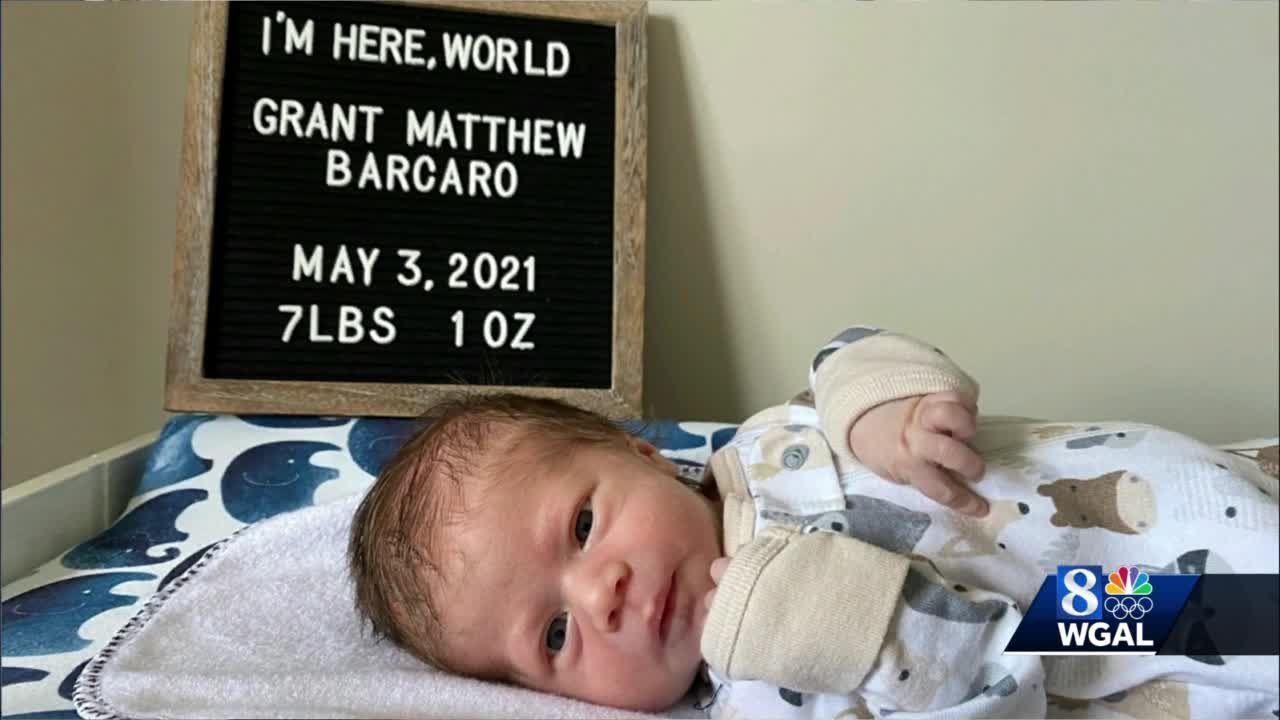 WGAL's Matt Barcaro welcomes baby boy
