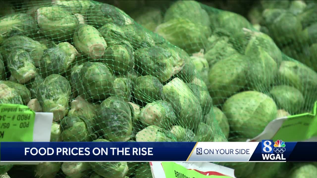 Food prices are on the rise