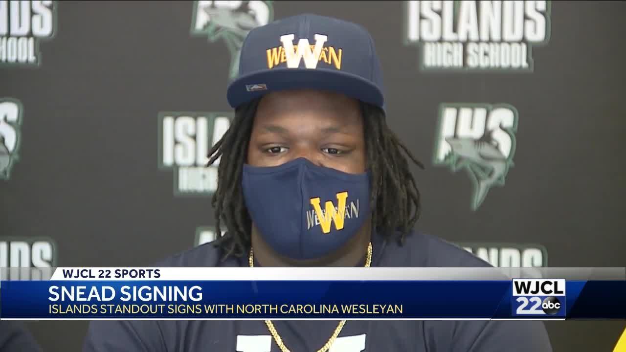 Sam Snead signs with North Carolina Wesleyan