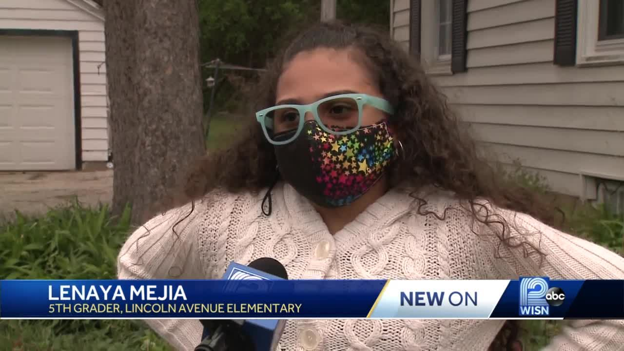 Milwaukee girl, 11 speaks with vice president