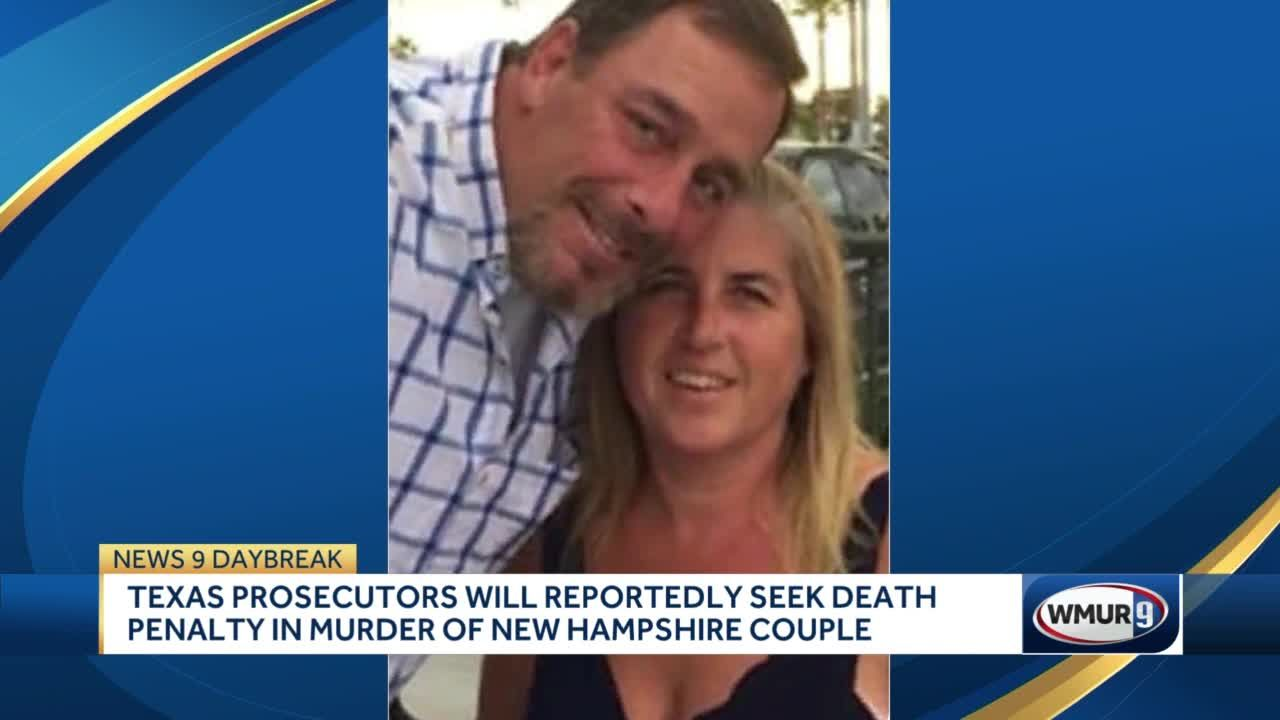 Texas prosecutors will reportedly seek death penalty in murder of New Hampshire couple