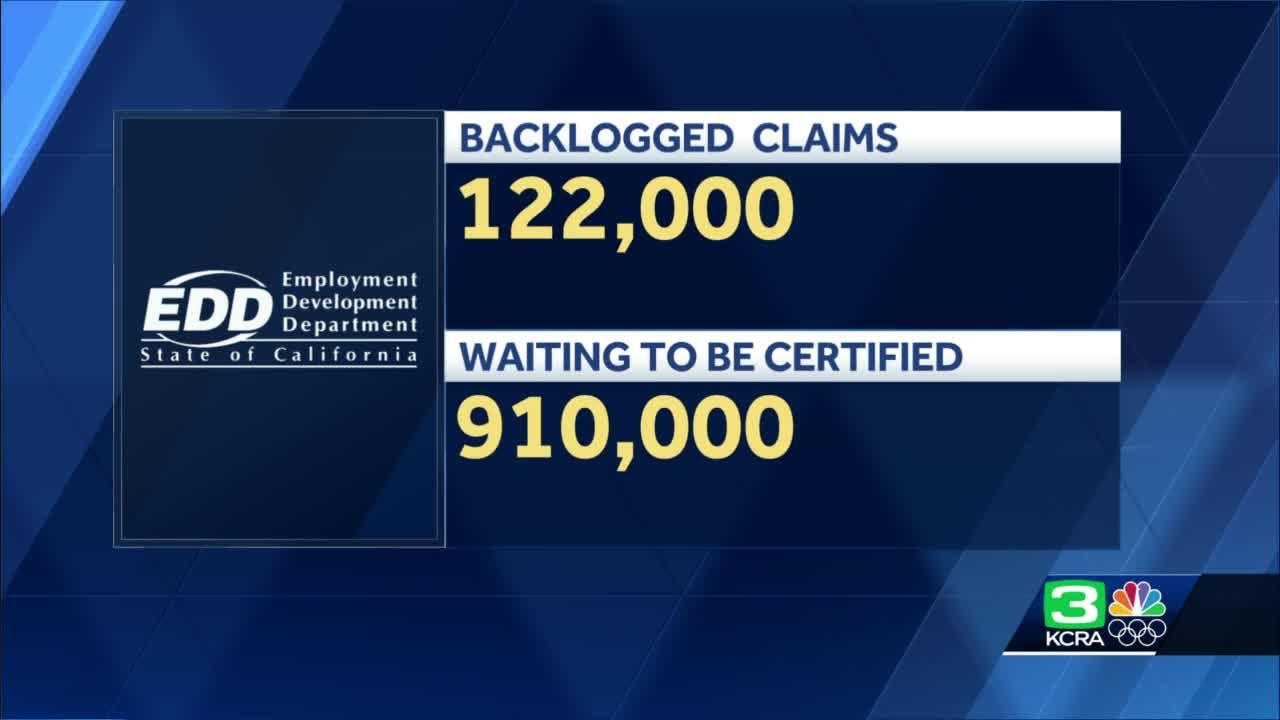 EDD backlog once again grows to more than 1 million claims