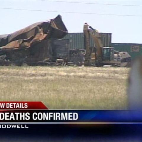 3 killed in Sunday train crash