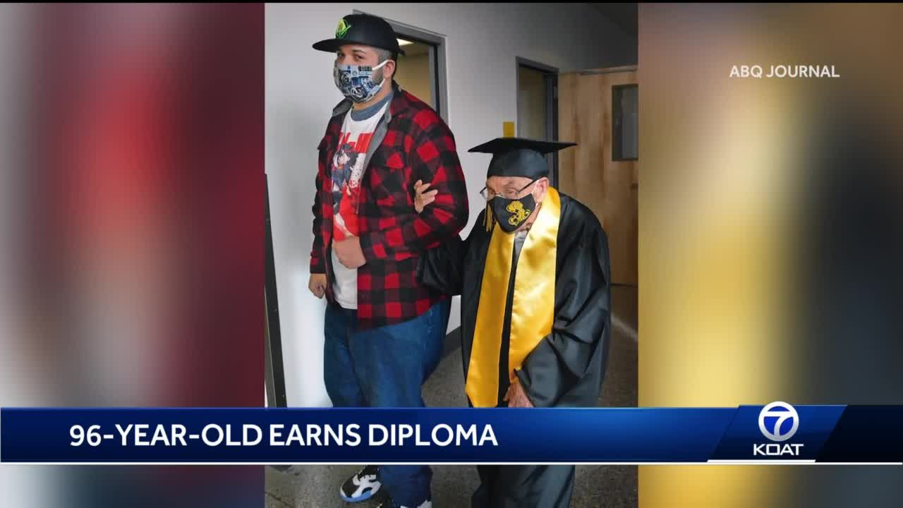 96-year-old local veteran graduates high school