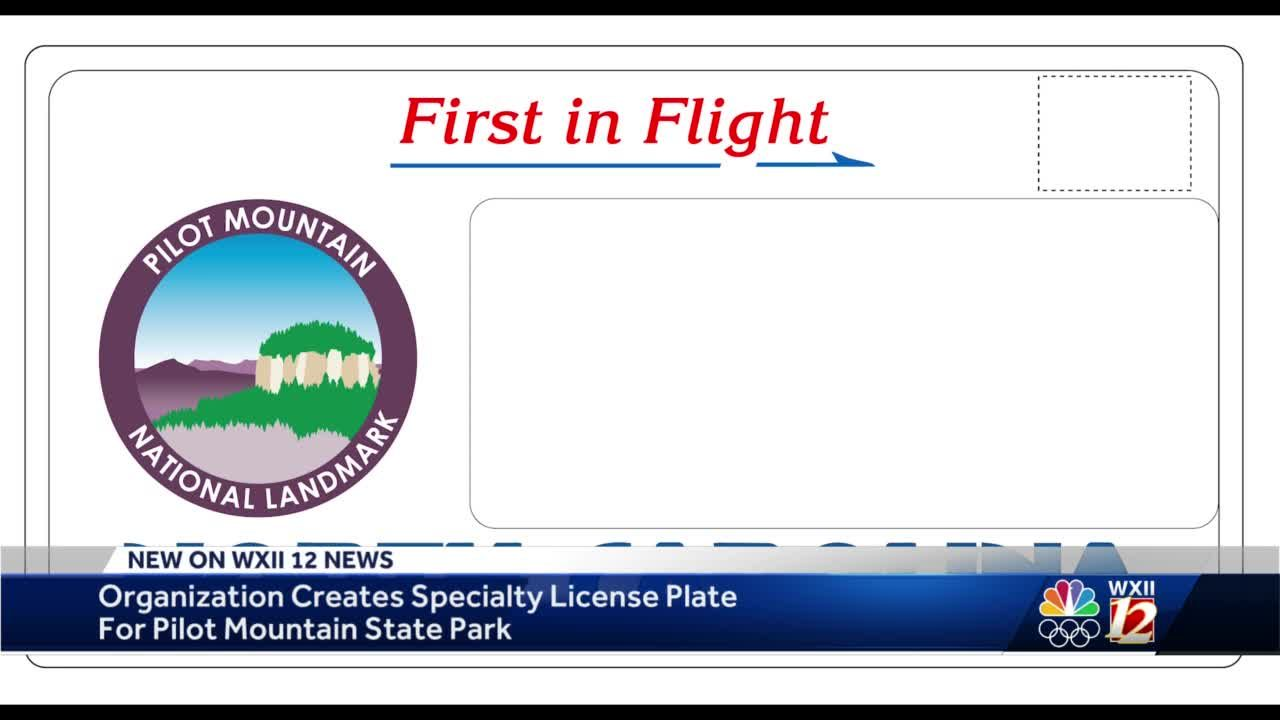 Pilot Mountain specialty license plates could showcase iconic peak if more applications received