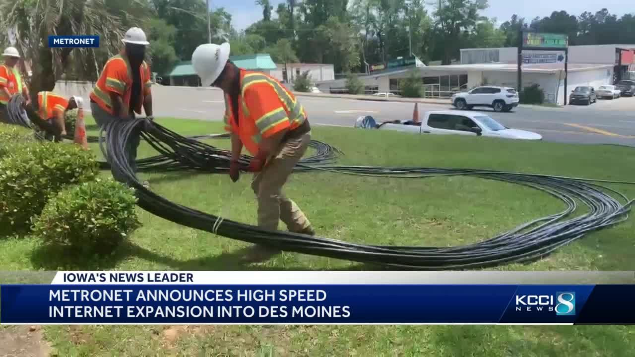 Metronet plans new fiber optic TV and internet service for Des Moines