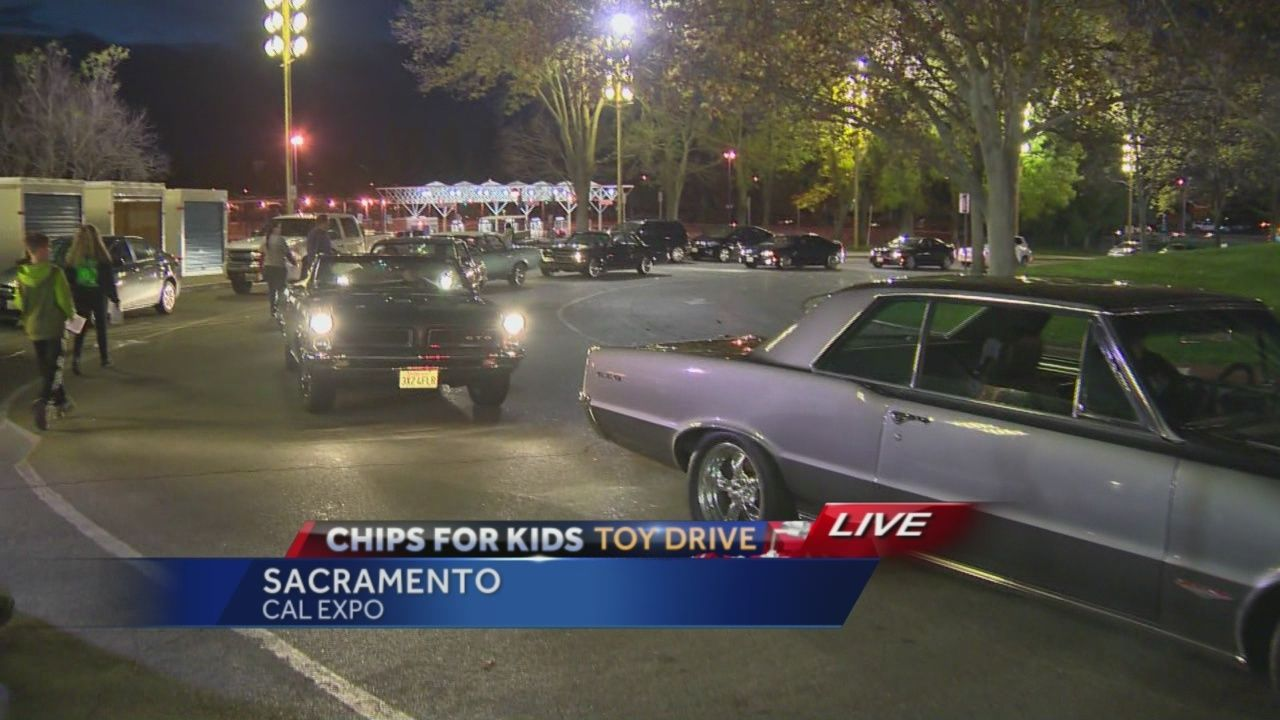 Car club brings lots of toys for Chips for Kids toy drive