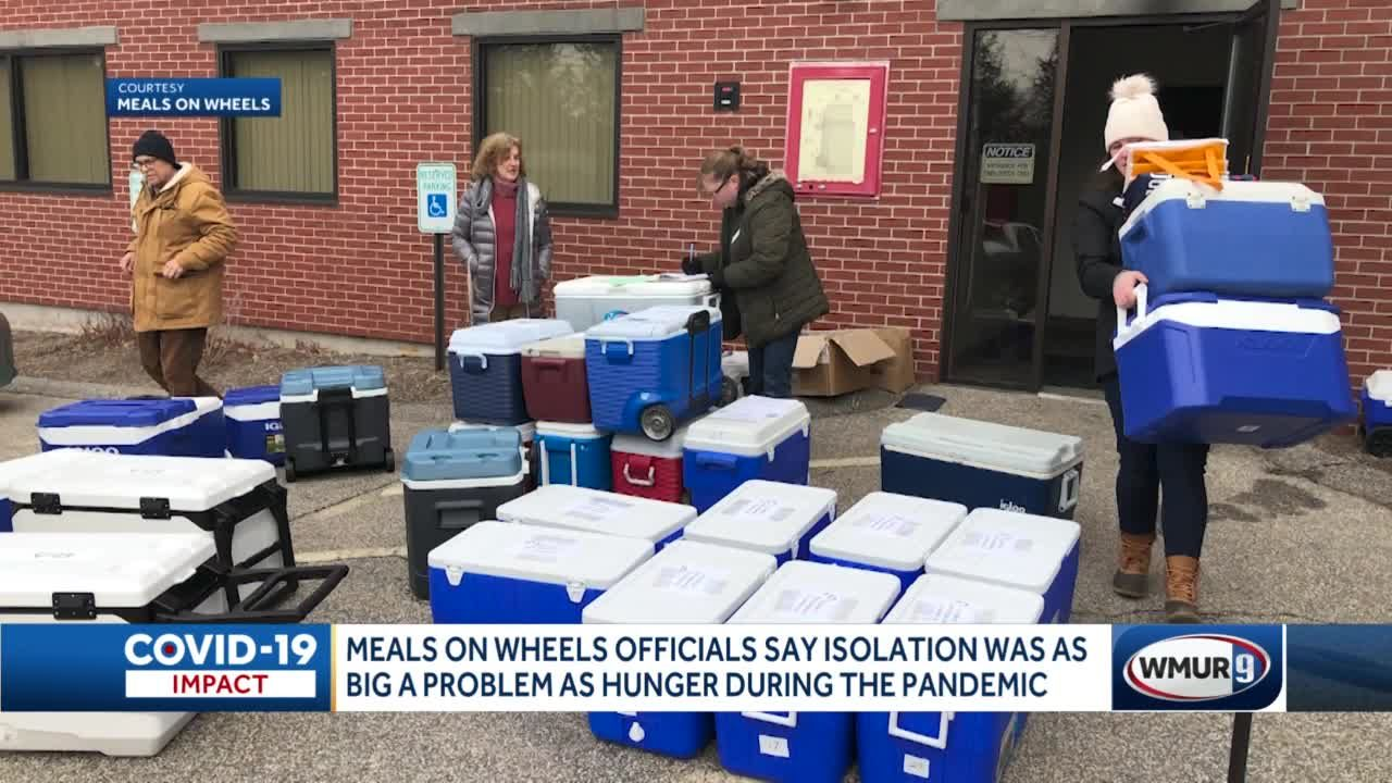 Meals on Wheels officials say isolation as big a problem as hunger during pandemic