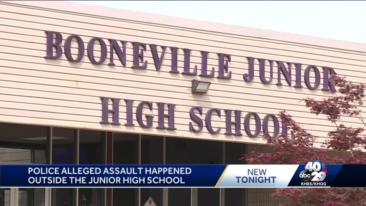 Police investigate assault at Booneville Jr High School