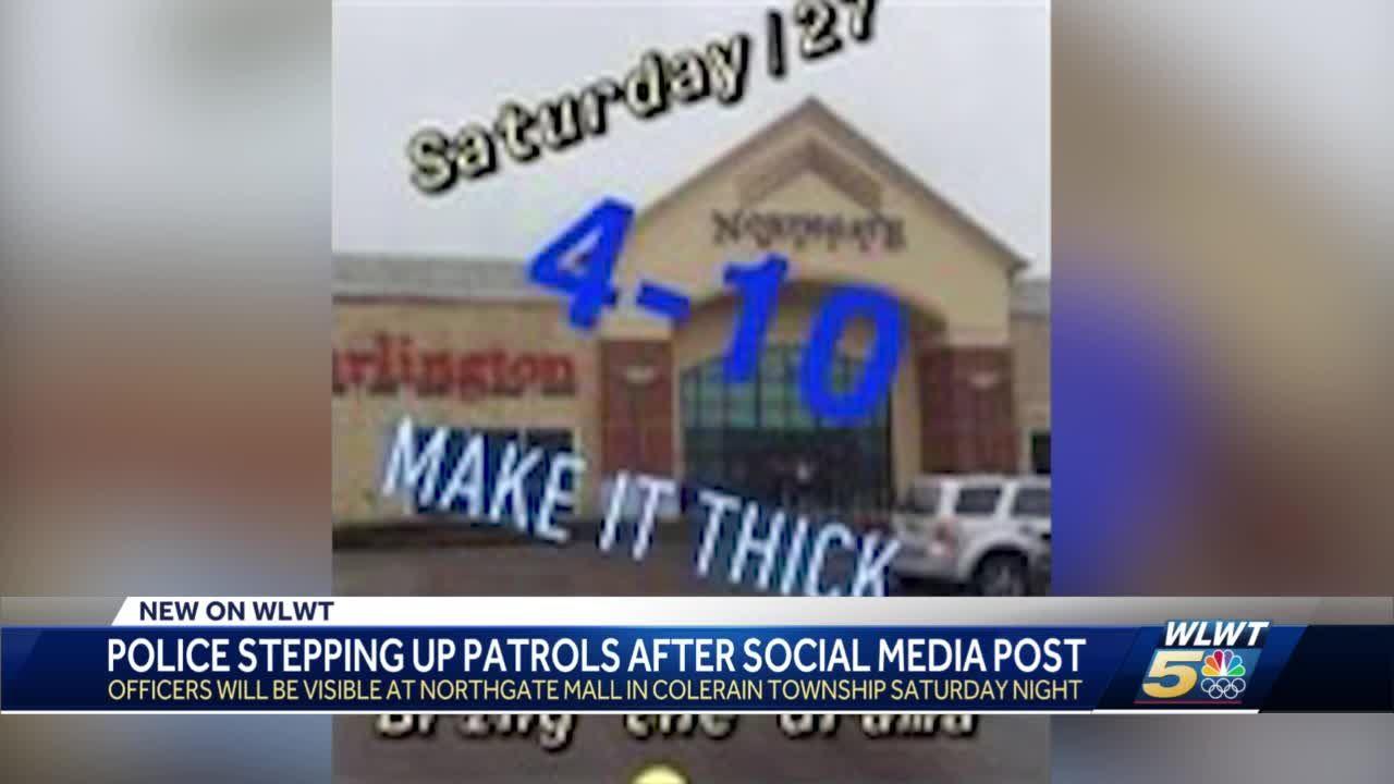 Police to increase presence at Northgate Mall Saturday after social media post