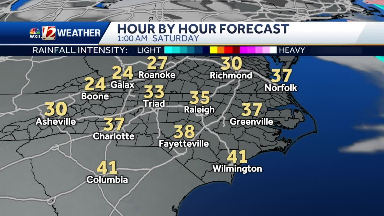 WATCH: Cool, Dry Weekend On The Way