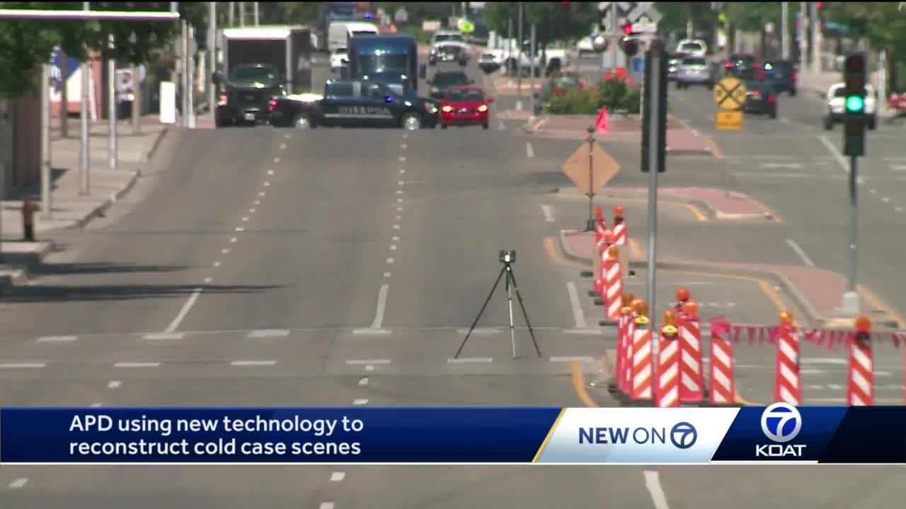 APD using new technology to reconstruct cold cse scenesj