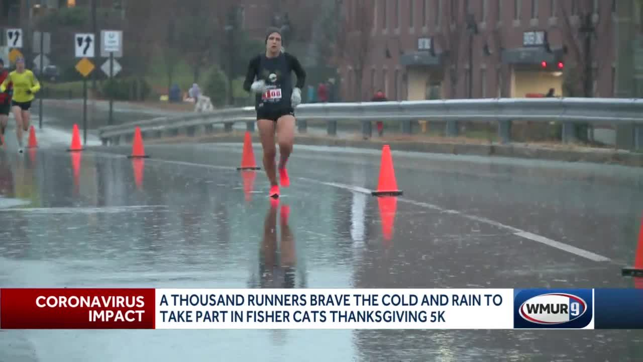 A different kind of Fisher Cats Thanksgiving 5K
