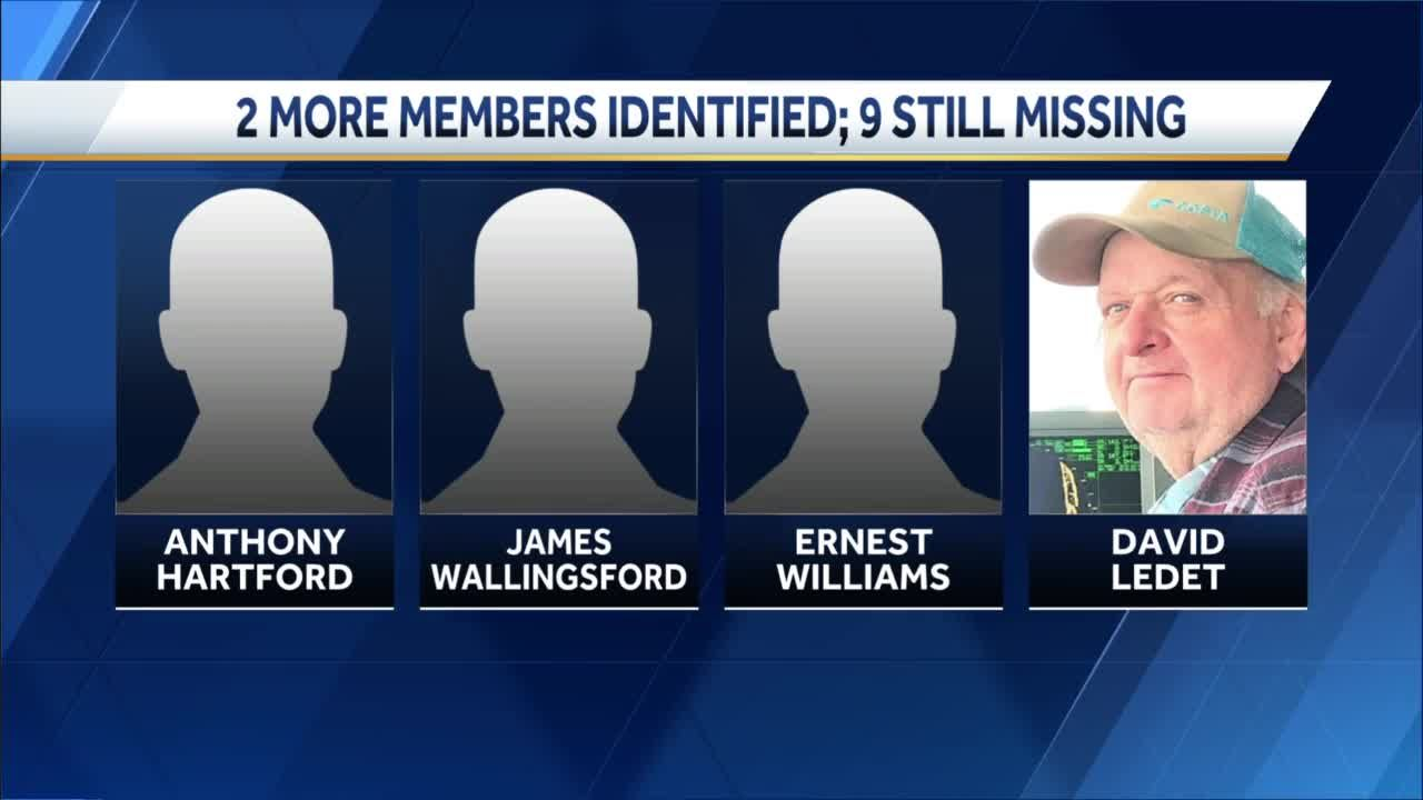 Search continues for 9 missing in capsized boat accident