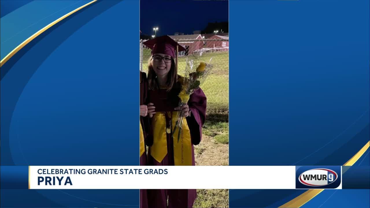 Celebrating Granite State Grads: Priya
