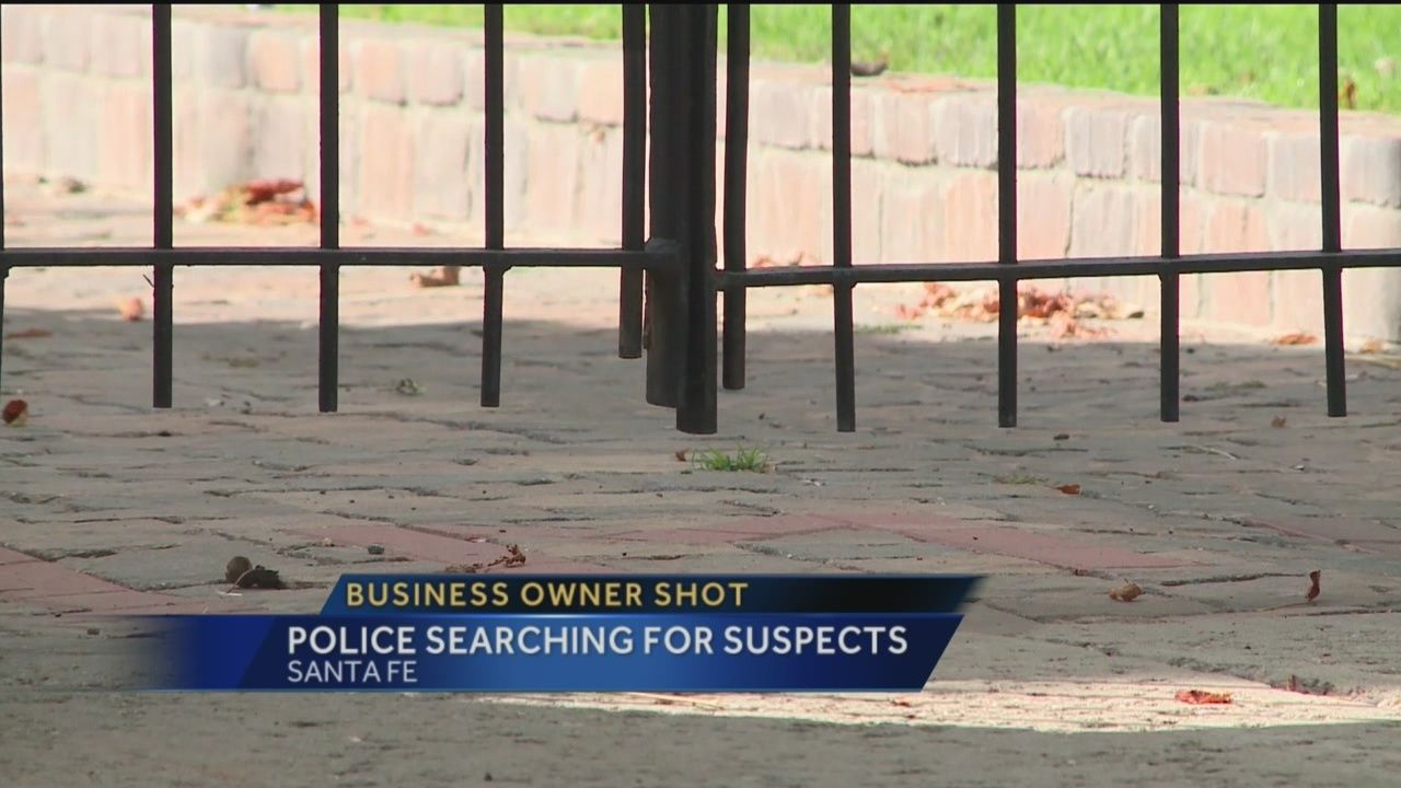 Business owner shot, police search for suspects