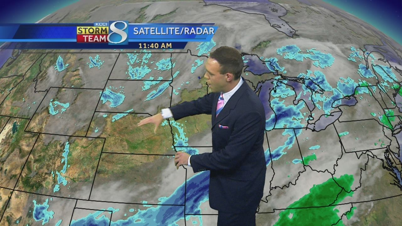 KCCI 8 weather forecast
