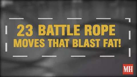 23 Battle Rope Moves That Blast Fat