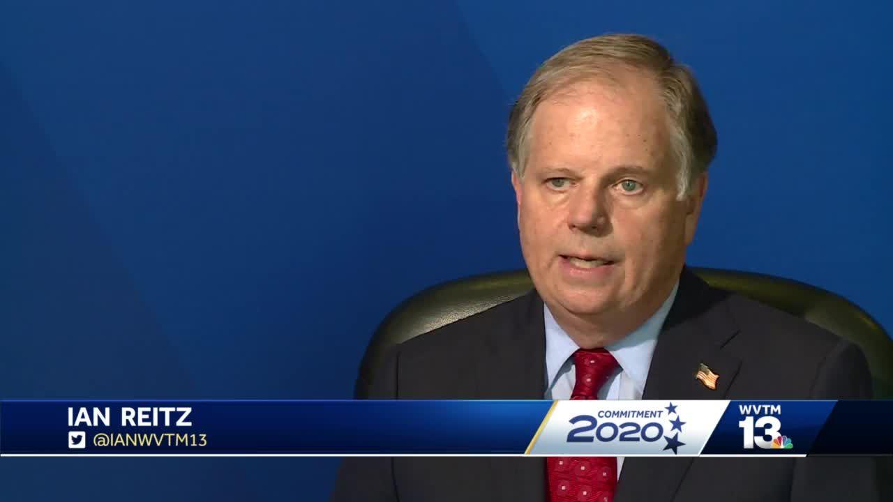 Commitment 2020: Sen. Doug Jones talks expanding Medicaid