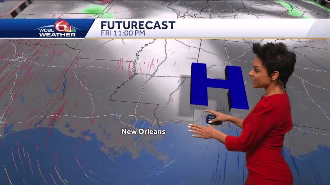Turning warmer and more humid into Mother's Day weekend