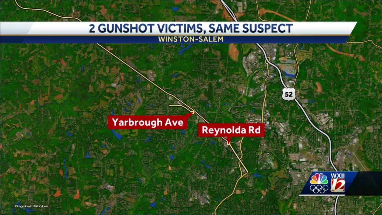 Winston-Salem police investigate two connected shootings
