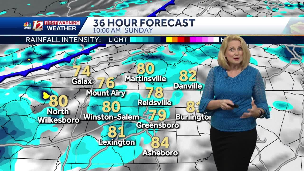 WATCH: Warm Start To The Weekend Plus Storm Chances Returning!