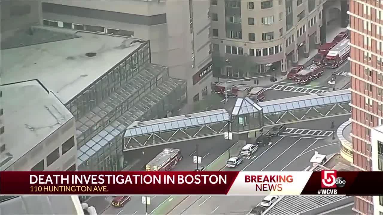 Death, Hazmat investigation under investigation near Boston hotel