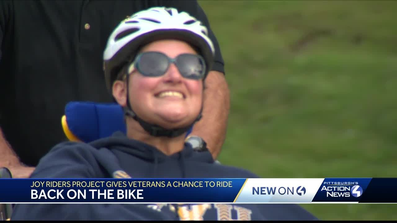 Joy Riders Project gives veterans a chance to ride