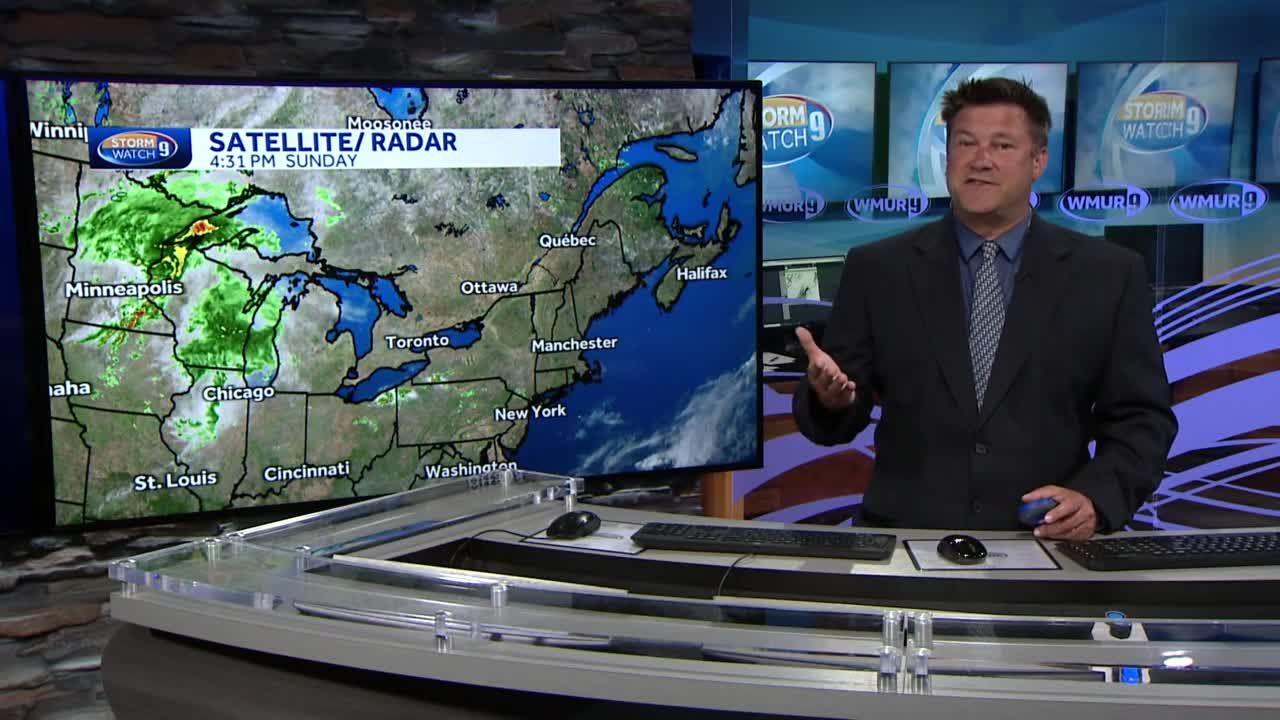 Watch: Warming trend continues